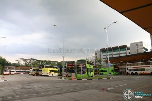 New Choa Chu Kang Bus Interchange - Parking Area