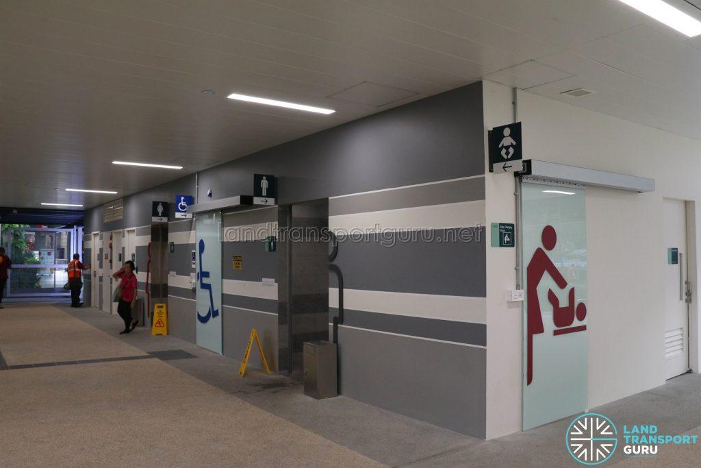 New Choa Chu Kang Bus Interchange - SMART Happy Toilets & Nursing Room