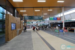 New Choa Chu Kang Bus Interchange - Concourse & Berth B3