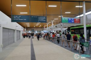 New Choa Chu Kang Bus Interchange - Concourse, Berth B4 & Retail Shops