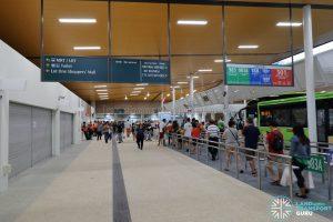 New Choa Chu Kang Bus Interchange - Concourse, Berth B4 & Retail Shops