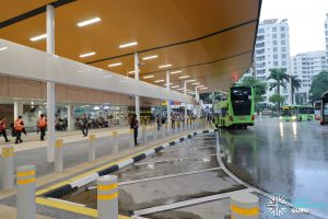 New Choa Chu Kang Bus Interchange - Concourse & Berth B5