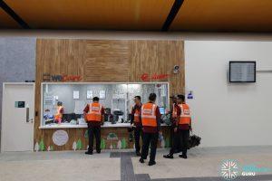 New Choa Chu Kang Bus Interchange - SMRT WeCare Counter & Passenger Service Counter