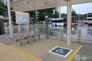 New Choa Chu Kang Bus Interchange - Passengers-In-Wheelchair Boarding Area