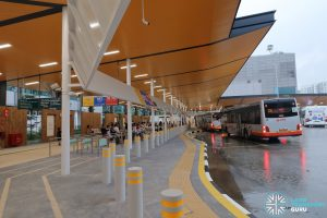 New Choa Chu Kang Bus Interchange - Concourse & Berth B1