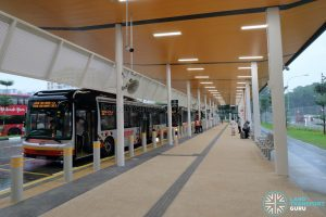 New Choa Chu Kang Bus Interchange - Alighting Berth