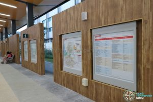 New Choa Chu Kang Bus Interchange - Information Panels