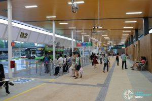 New Choa Chu Kang Bus Interchange - Concourse & Berth B2