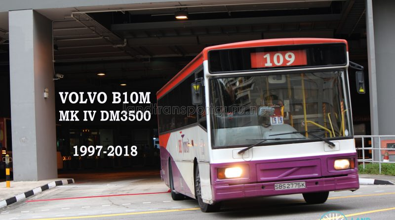 Farewell, SBS Transit Volvo B10M Buses