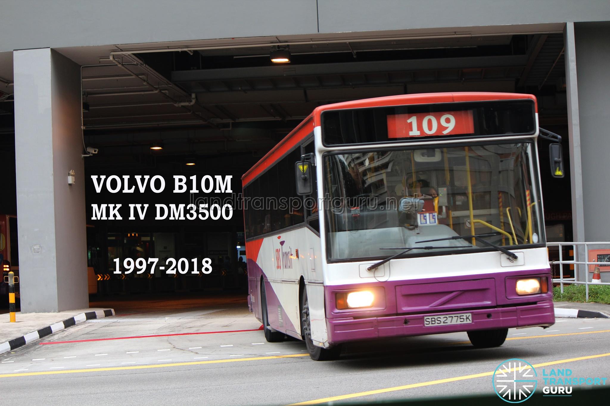 Farewell, SBS Transit Volvo B10M Buses | Land Transport Guru