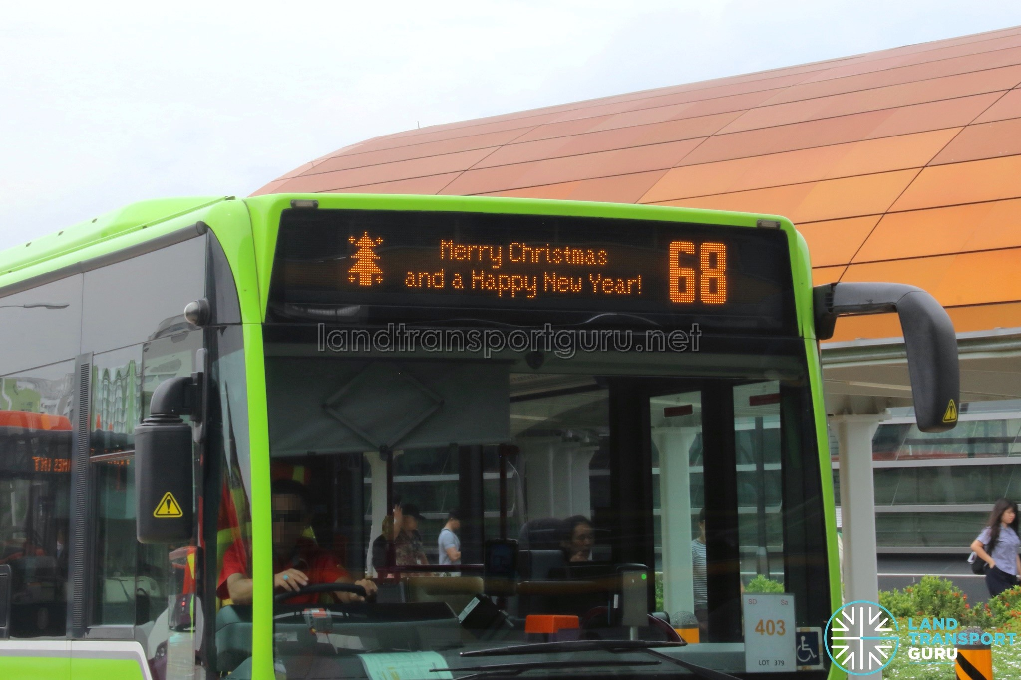 Go-Ahead Singapore Merry Christmas & Happy New Year