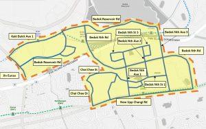 LTA On Demand Public Bus - Service Area for Night Bus (Bedok)