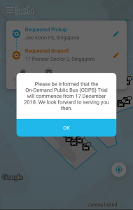ODPB BusGo App - Advisory
