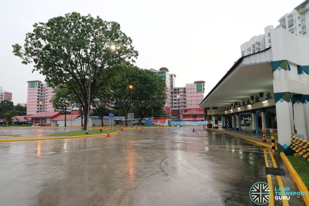 Old Choa Chu Kang Bus Interchange - Alighting Berth