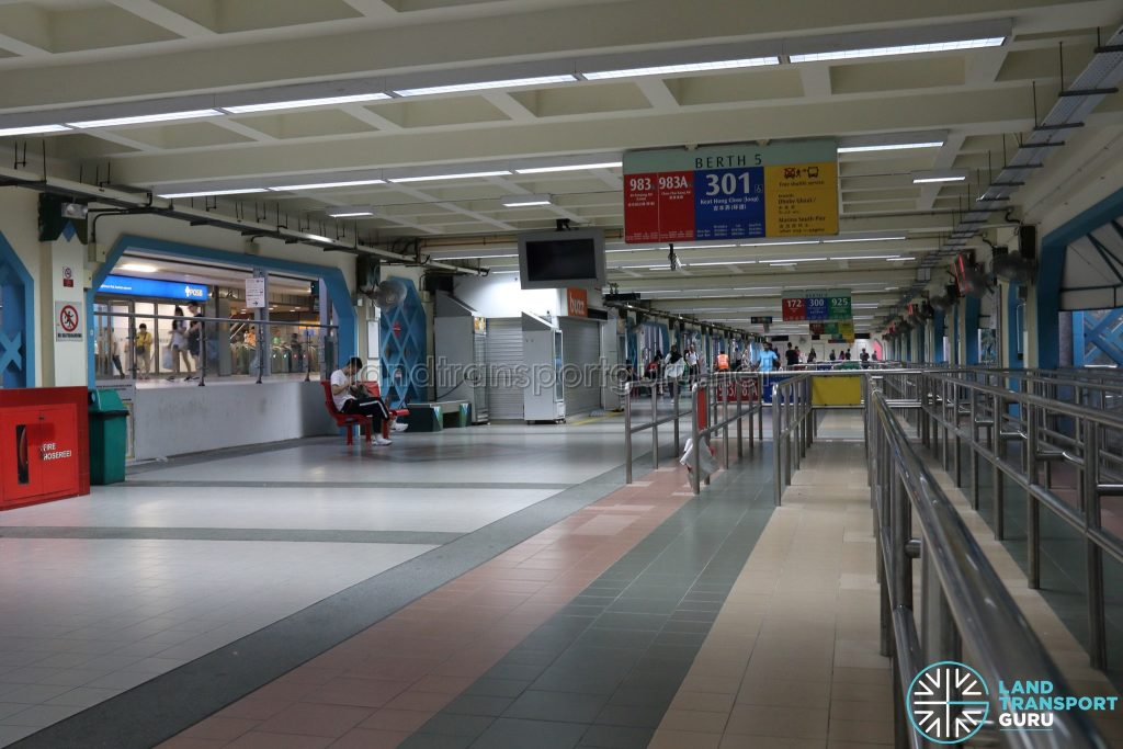 Old Choa Chu Kang Bus Interchange - Berth 5