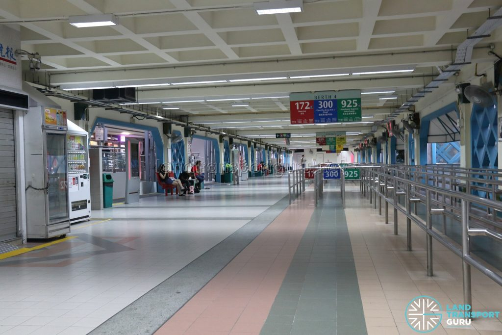 Old Choa Chu Kang Bus Interchange - Berth 4