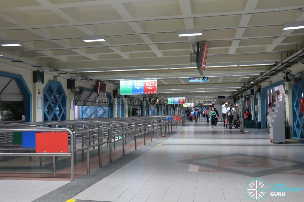 Old Choa Chu Kang Bus Interchange - Concourse & Berth 1