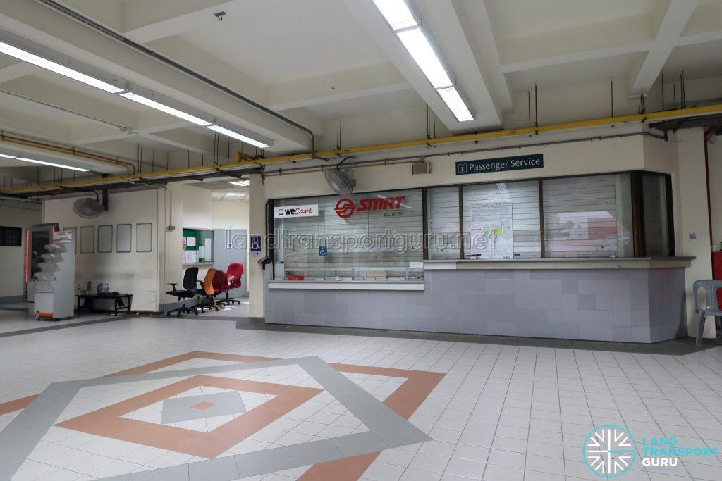 Old Choa Chu Kang Bus Interchange - SMRT WeCare Counter & Passenger Service