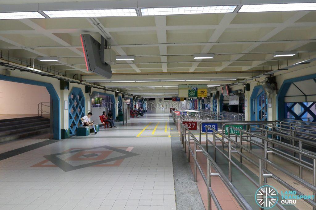 Old Choa Chu Kang Bus Interchange - Concourse