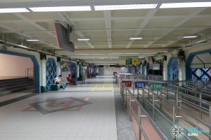 Old Choa Chu Kang Bus Interchange - Concourse