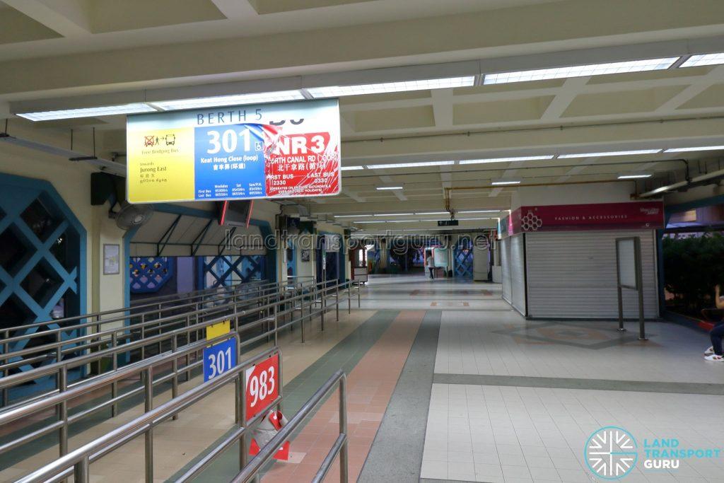Old Choa Chu Kang Bus Interchange - Berth 5