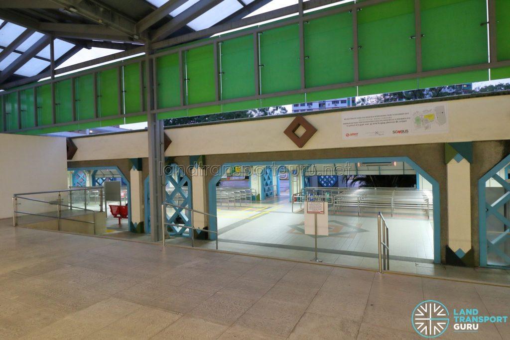 Old Choa Chu Kang Bus Interchange - Concourse from Choa Chu Kang MRT