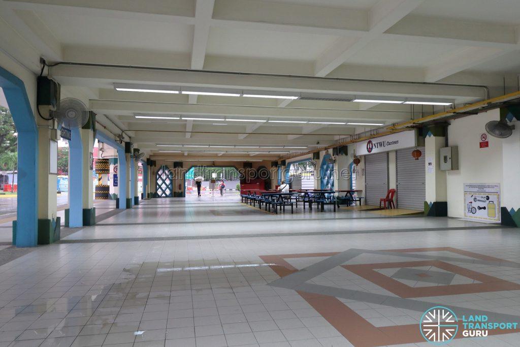 Old Choa Chu Kang Bus Interchange - Alighting Berth & NTWU Canteen