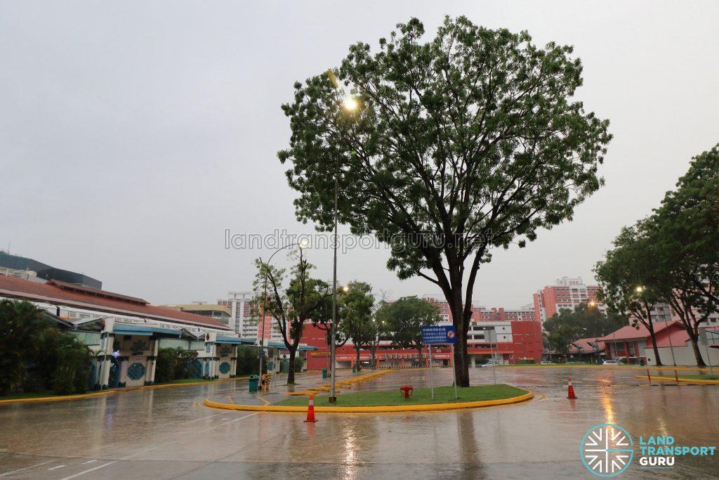 Old Choa Chu Kang Bus Interchange - Parking Bay