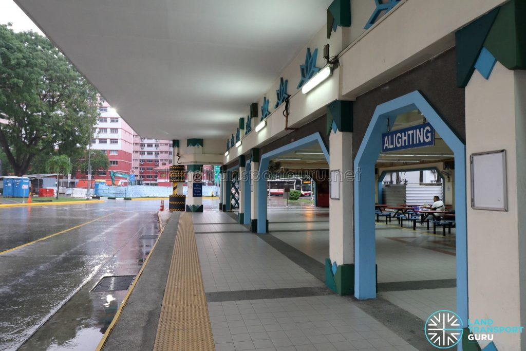 Old Choa Chu Kang Bus Interchange - Alighting Berth