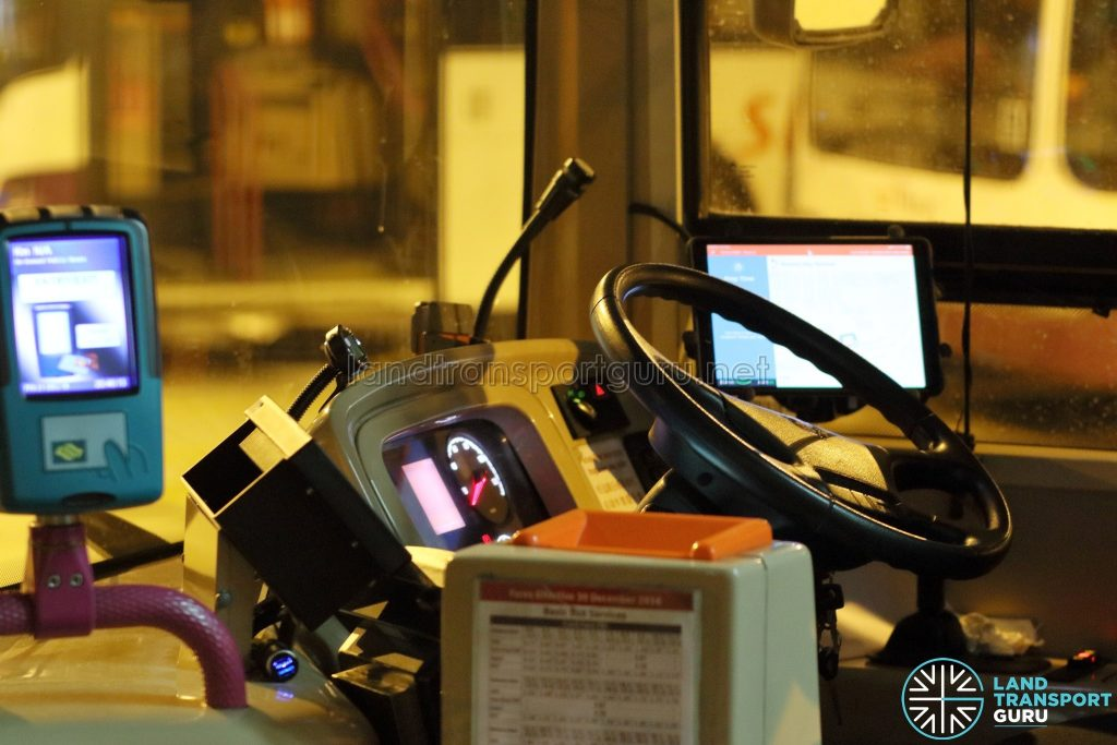 On-Demand Public Bus - Driver Tablet with BusNow Application