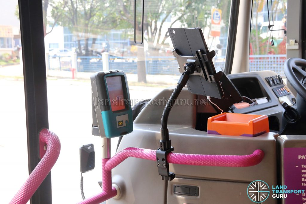Arkon Tablet Clamp Mount for On-Demand Public Bus (Joo Koon)