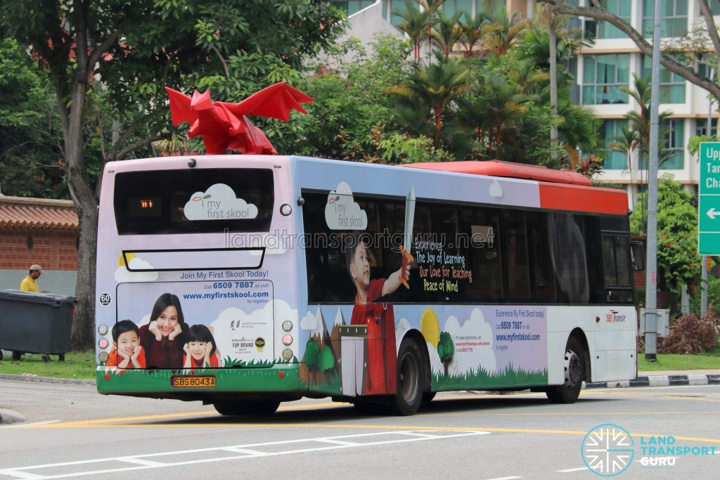 3D Advertising by Moove Media on Scania K230UB