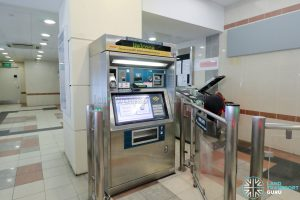 Ten Mile Junction LRT Station - General Ticketing Machine