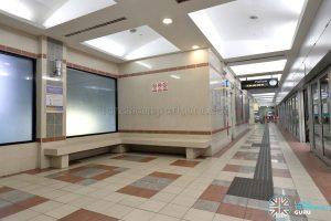 Ten Mile Junction LRT Station - Platform Waiting Area