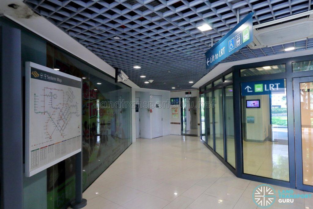 Ten Mile Junction LRT Station - Level 1