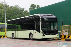 Volvo 7900 Electric - Offside