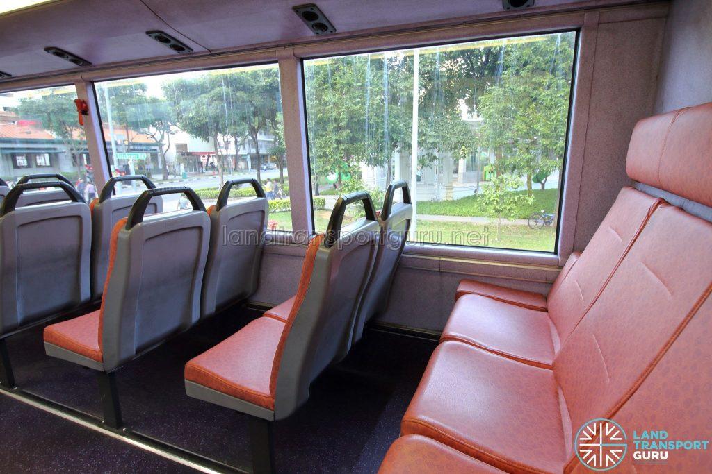 Volvo B10TL (CDGE) (SBS9889U) - Upper deck rear seats