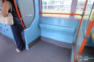 Volvo B10TL (CDGE) (SBS9889U) - Lower deck standing area