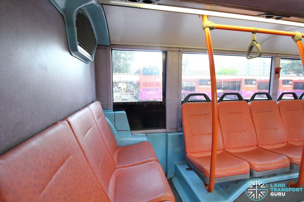 Volvo B10TL (CDGE) (SBS9889U) - Lower deck rear seats