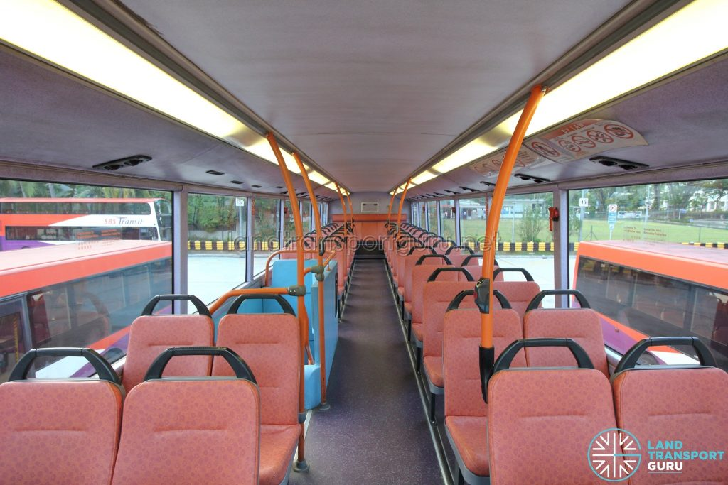 Volvo B10TL (CDGE) (SBS9889U) - Upper deck (Front to Rear)