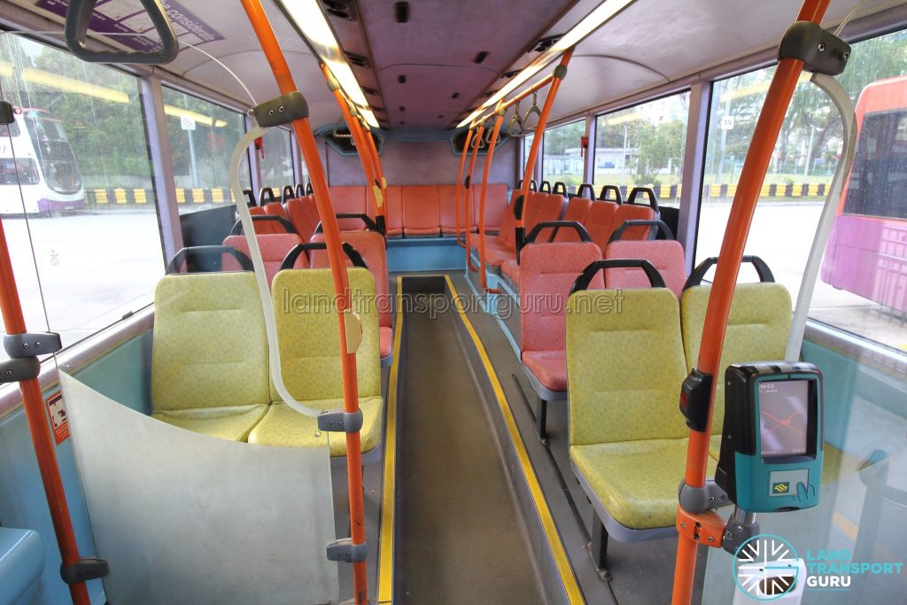 Volvo B10TL (CDGE) (SBS9889U) - Lower deck rear seating