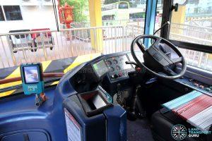 Volvo B10TL (CDGE) (SBS9889U) - Driver's compartment