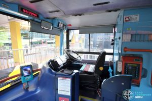 Volvo B10TL (CDGE) (SBS9889U) - Driver's compartment