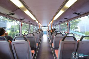 Volvo B10TL (CDGE) (SBS9889U) - Upper deck (Rear to Front)
