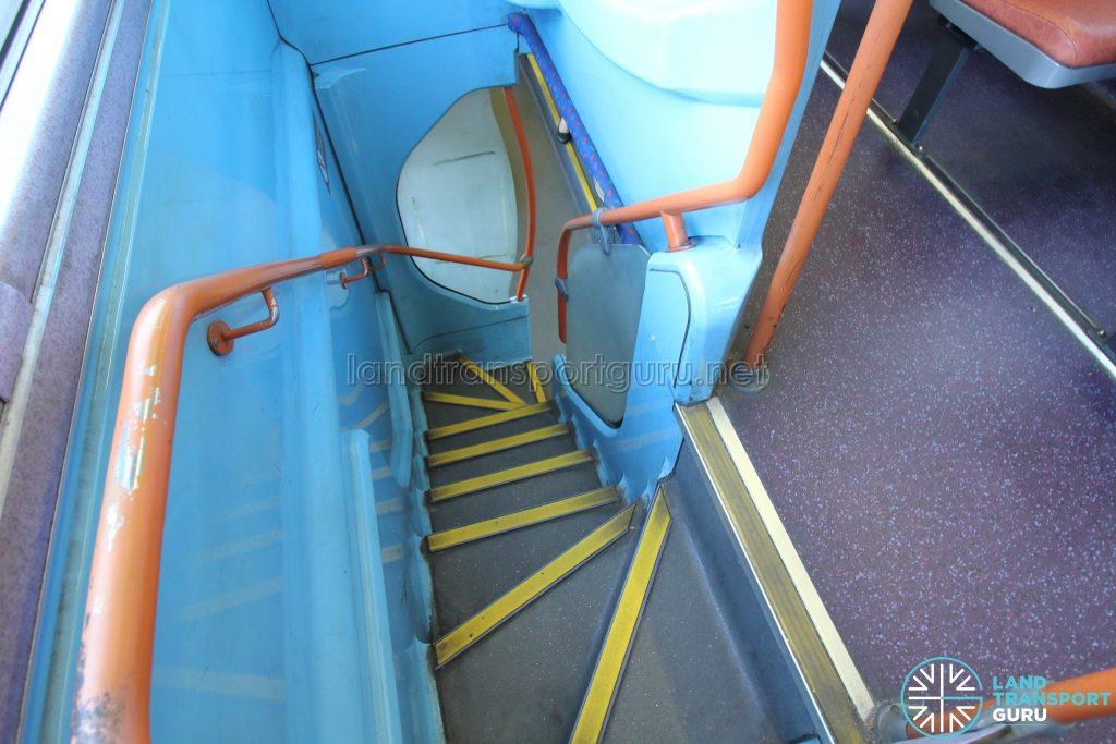 Volvo B10TL (CDGE) (SBS9889U) - Staircase