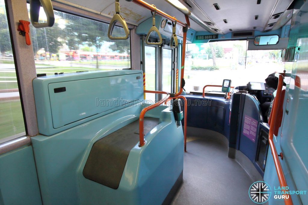 Volvo B10TL (CDGE) (SBS9889U) - Lower Deck (Front section)