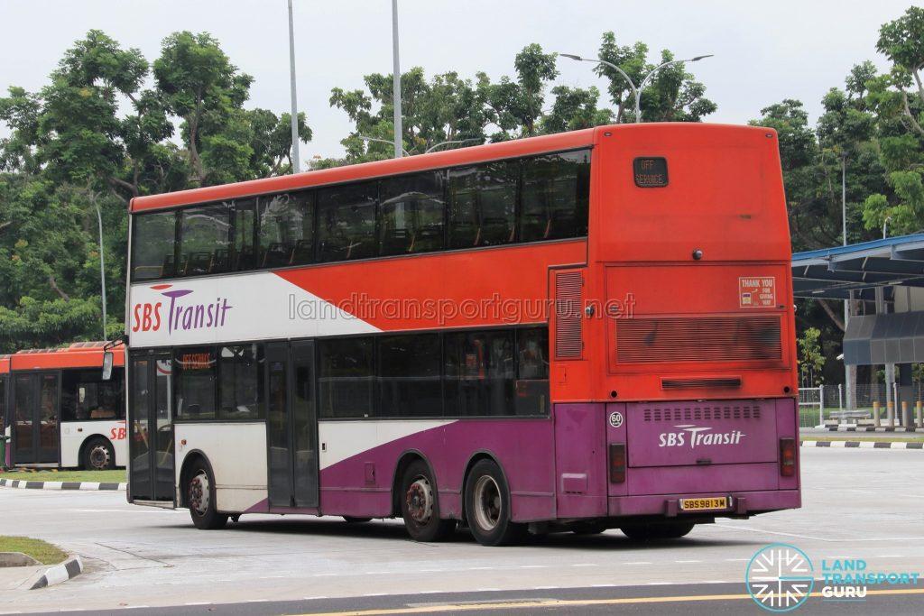 Off Service - SBS Transit Volvo B10TL (SBS9813M)