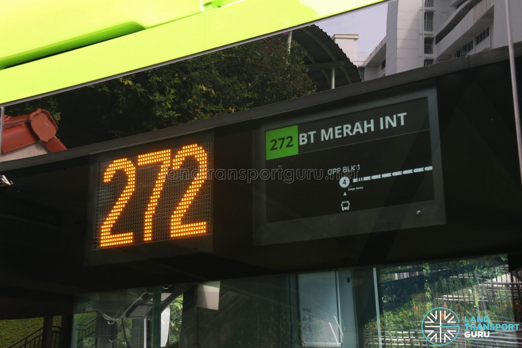 Exterior PIDS for Volvo B5LH Buses