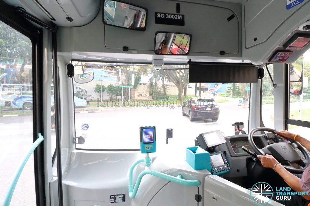 Volvo B5LH - Front Section with Driver's Cab