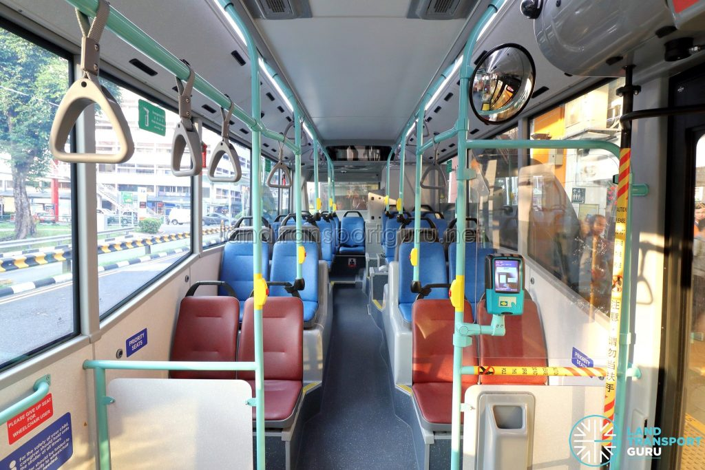 Volvo B5LH - Interior (Middle to Rear)